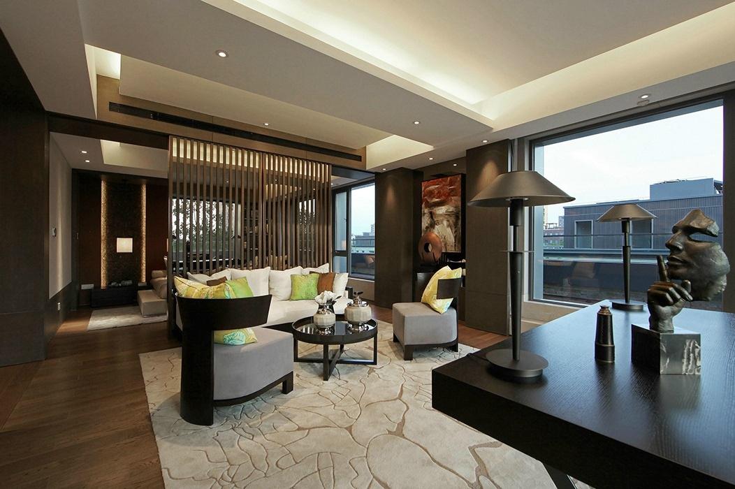 1000平米客厅装修样板间