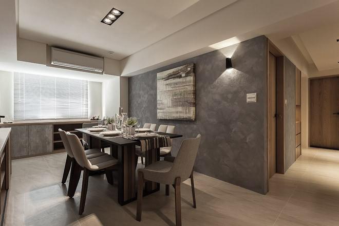 三居室餐厅餐厅吊顶室内效果图