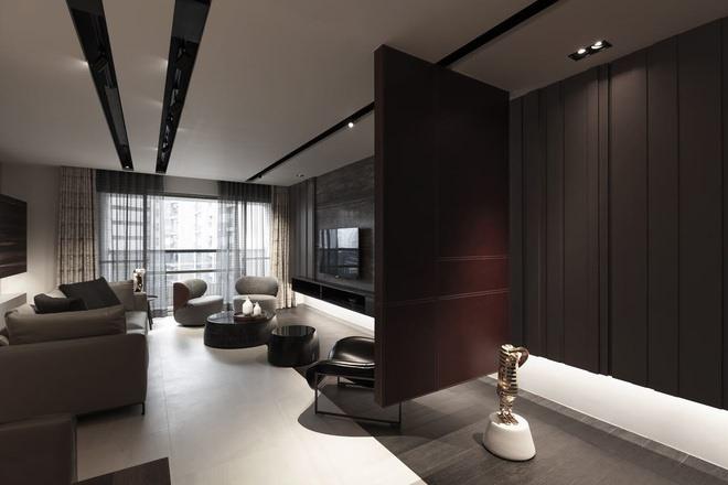 工业风格客厅设计