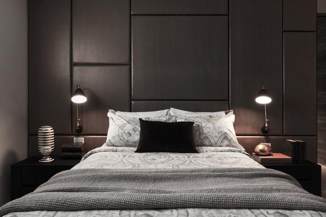 99平米卧室卧室背景墙装修效果图