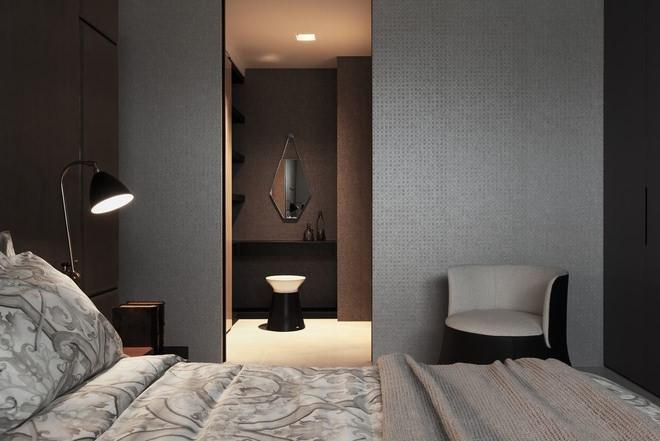 工业风格卧室衣柜室内设计图