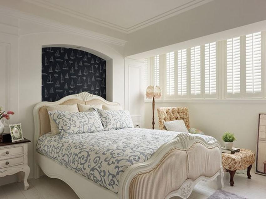 115平米卧室卧室背景墙效果图