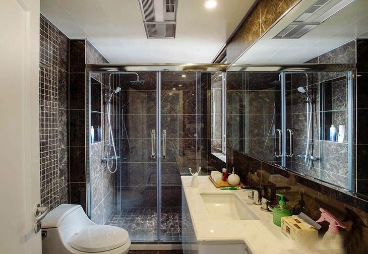 三居室卫生间装潢设计