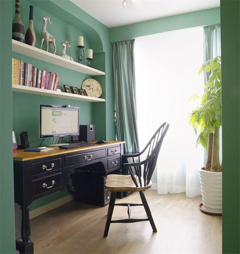 现代简约风格书房书柜/架家装设计