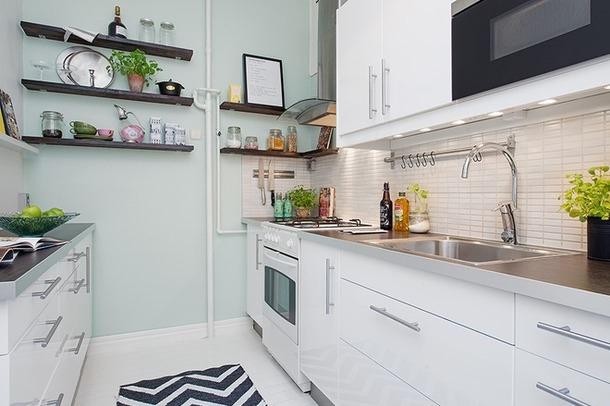 三居室厨房创意收纳装潢案例
