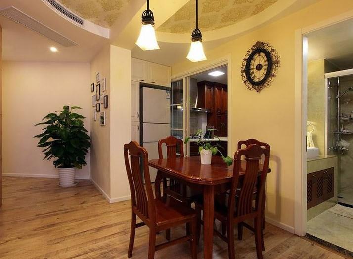 二居室餐厅餐厅吊顶装饰图