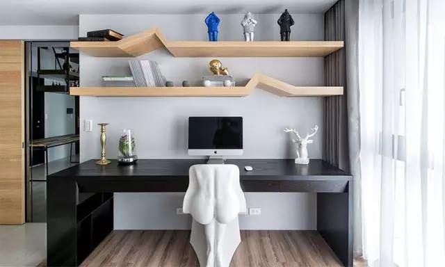 三居室客厅创意收纳装修图