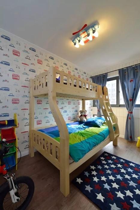 122平米儿童房灯饰/照明设计图