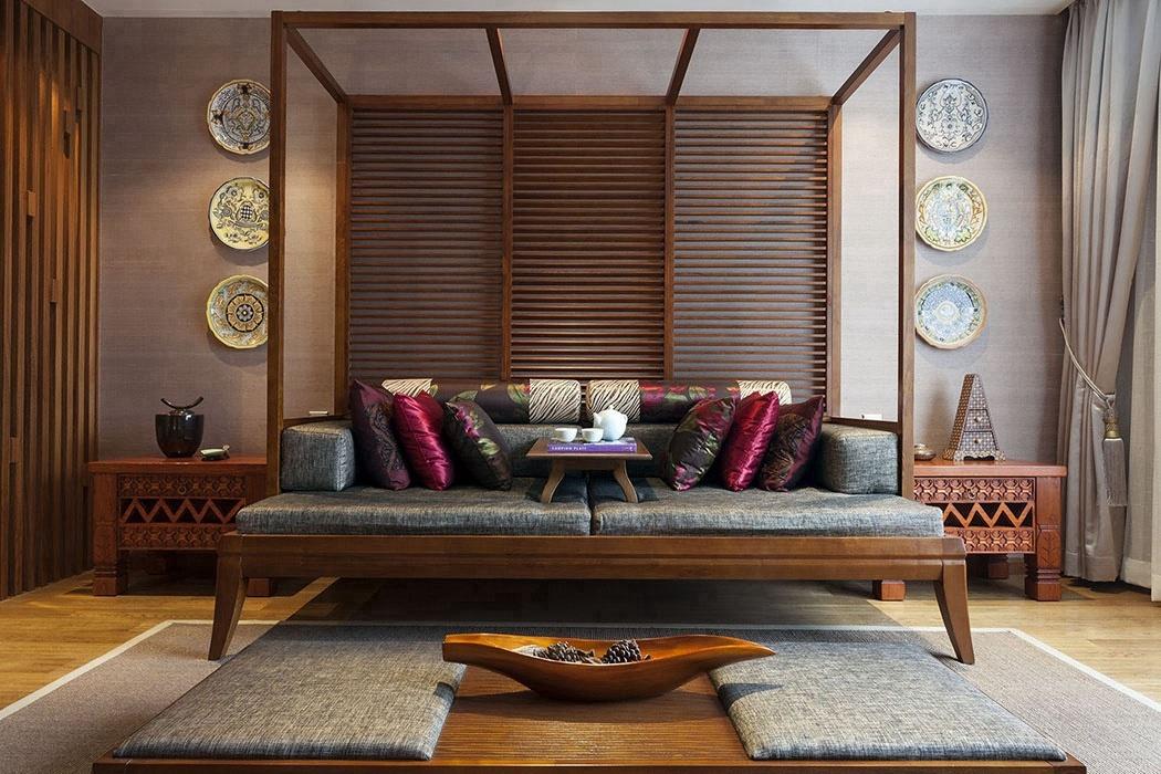 别墅客厅背景墙效果图