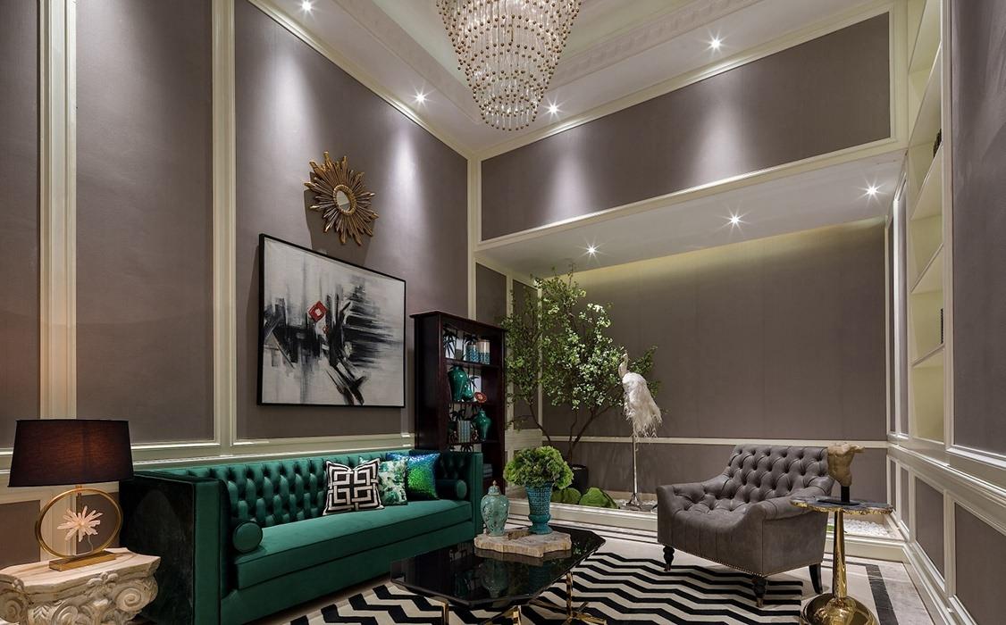 客厅沙发背景墙设计图
