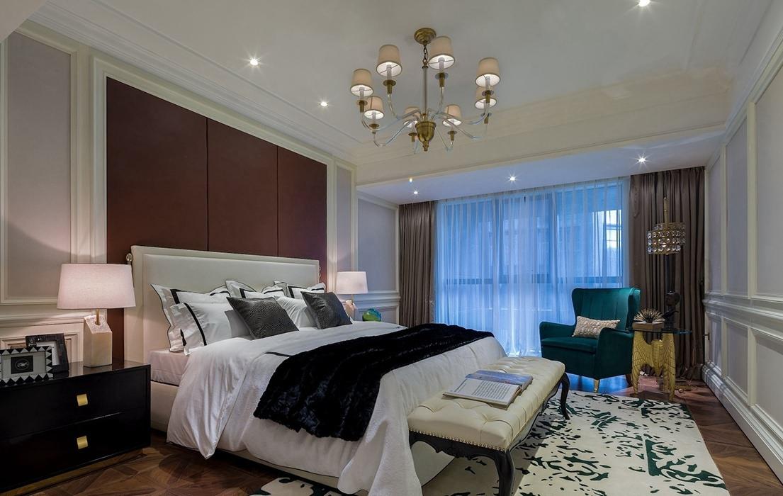 225平米卧室灯饰/照明家装案例图