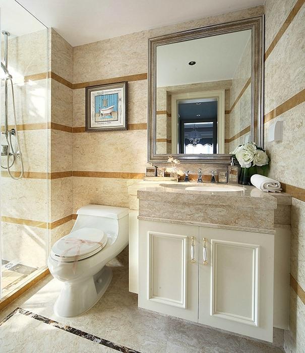 卫生间马桶背景墙设计图