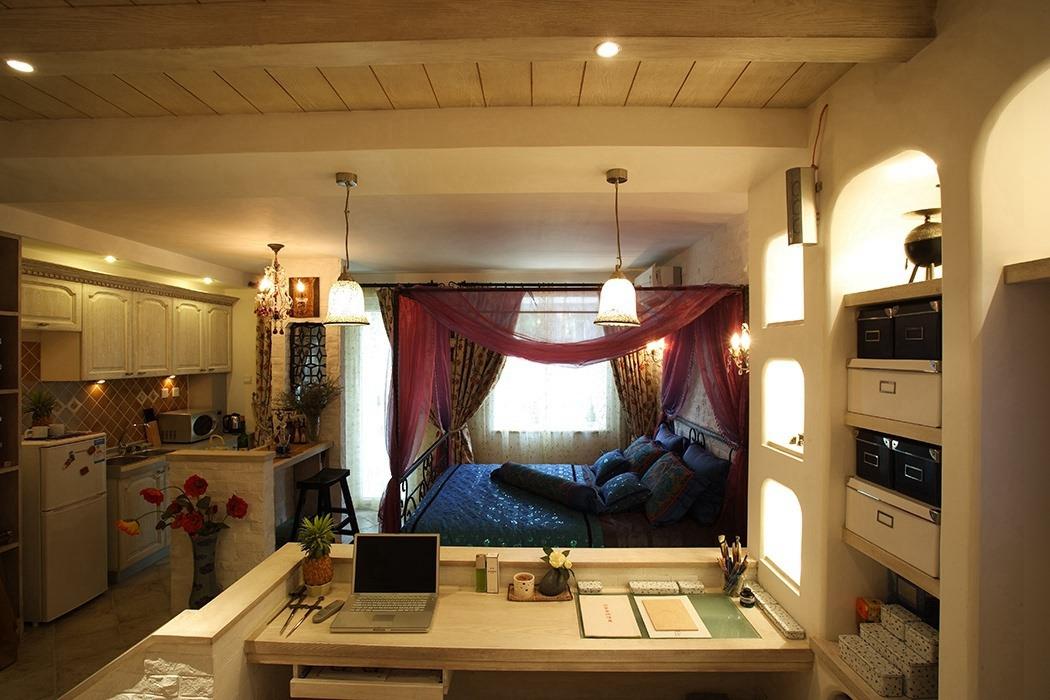 67平米卧室装修样板房
