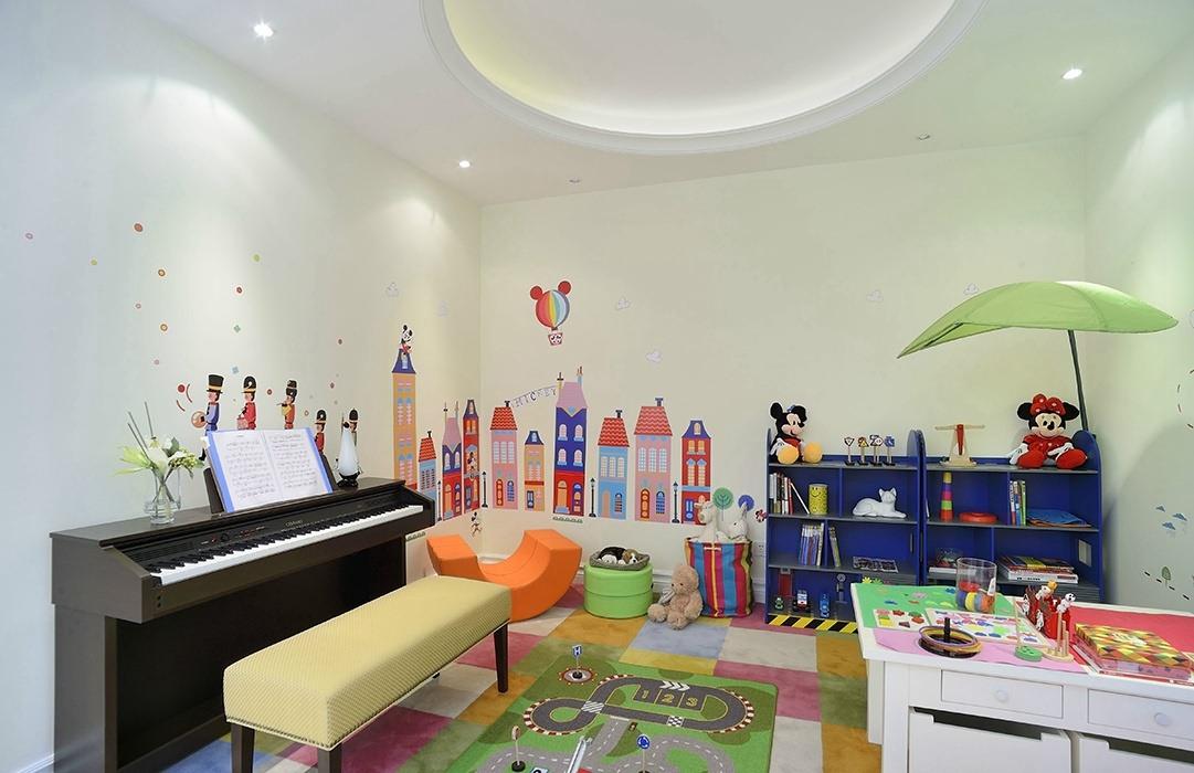 欧式风格儿童房背景墙装修效果图