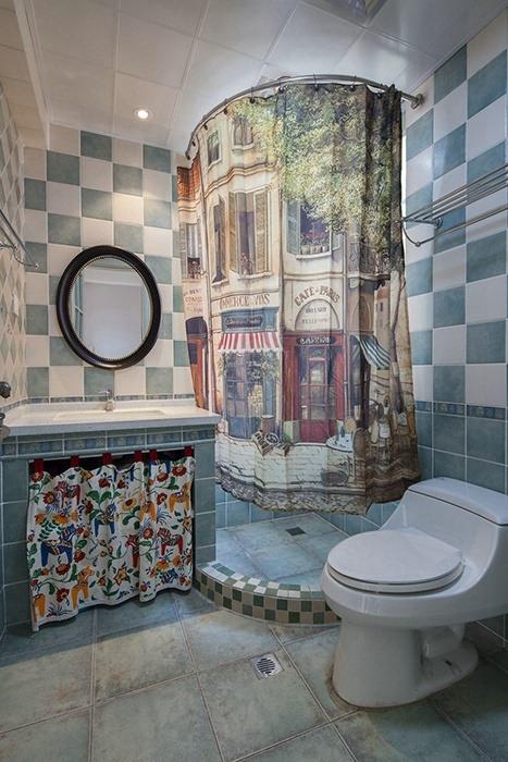 198平米卫生间背景墙家装效果图