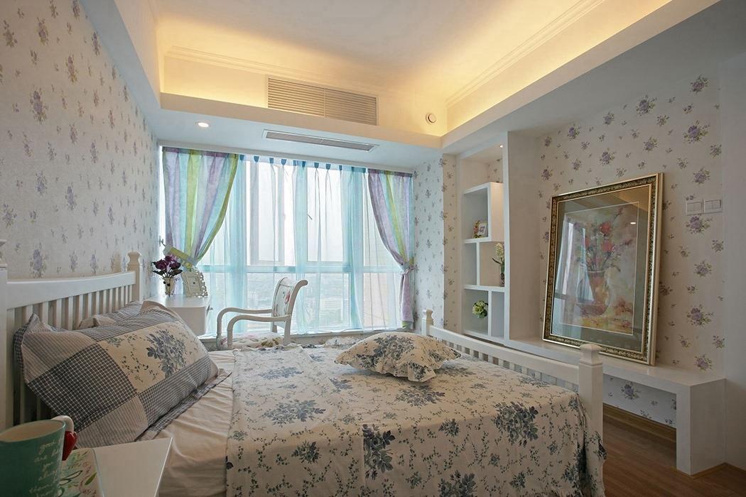 320平米卧室背景墙效果图