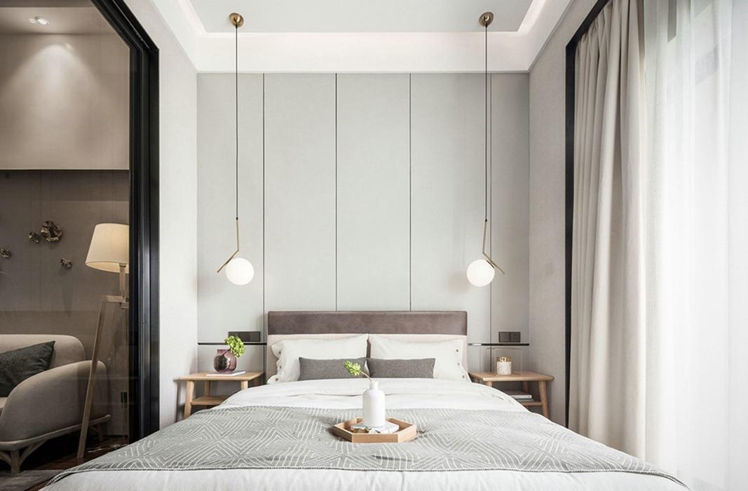 54平米卧室灯饰/照明家装案例图