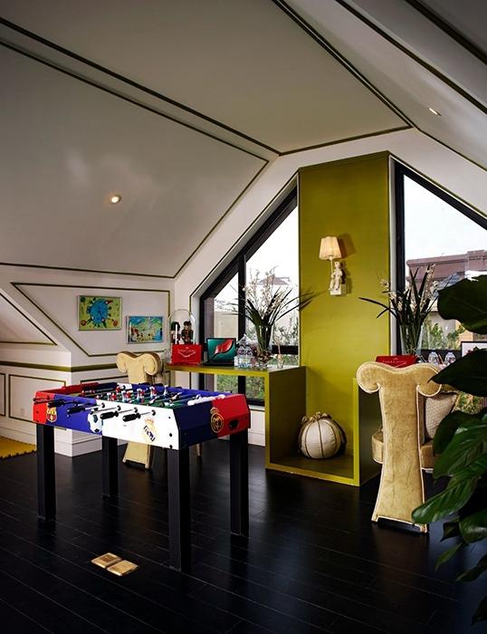 欧式风格休闲区灯饰/照明室内实例