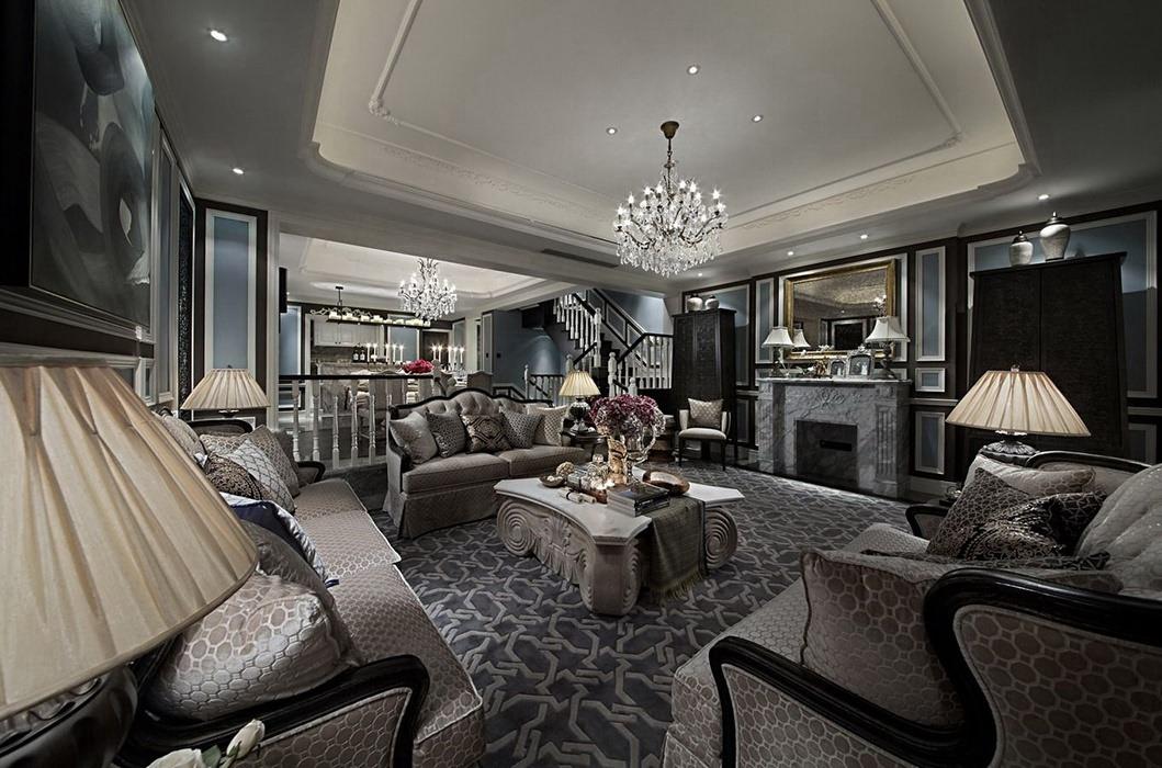 400平米客厅灯饰/照明家装设计