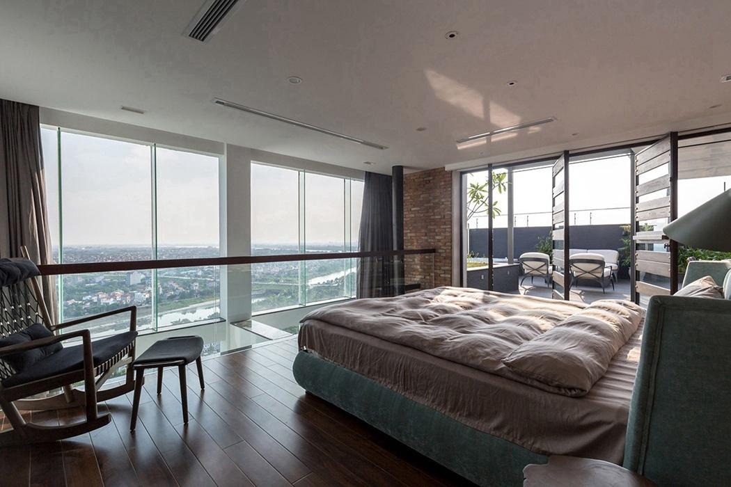 现代简约风格客厅窗户装饰案例