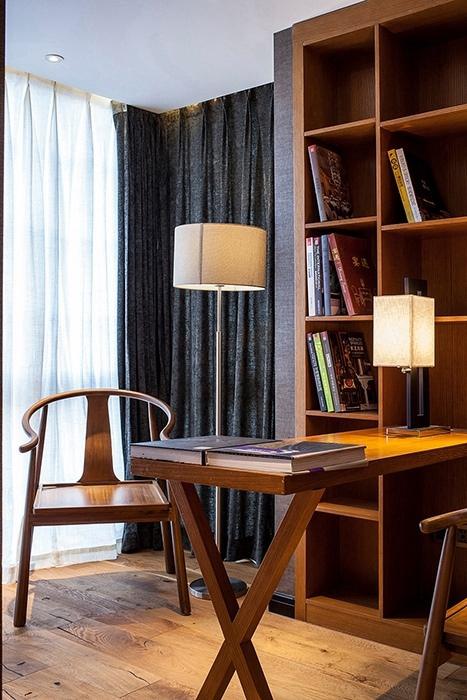 250平米书房书柜/架装潢设计图