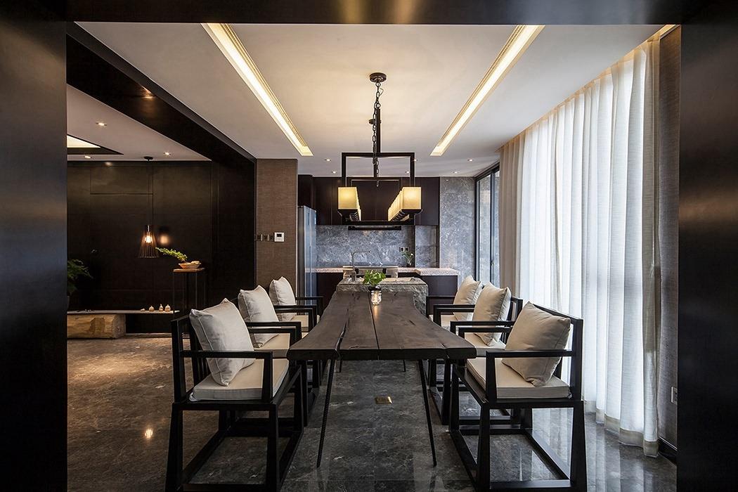 新中式风格餐厅设计