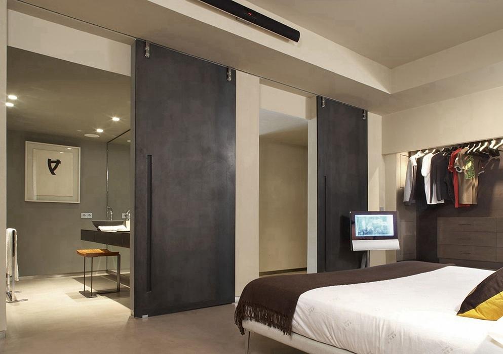 现代简约风格卧室隔断家装图片