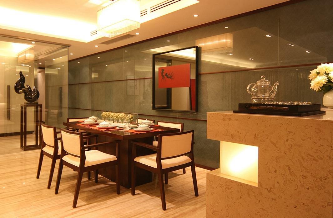 170平米餐厅背景墙室内效果图