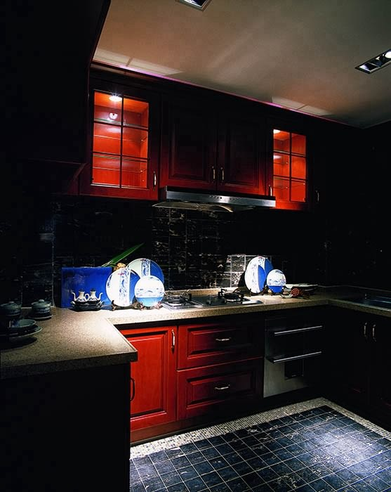 四居室厨房装修图片