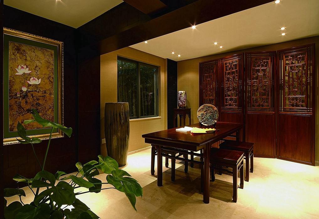 新中式风格休闲区家装样板房