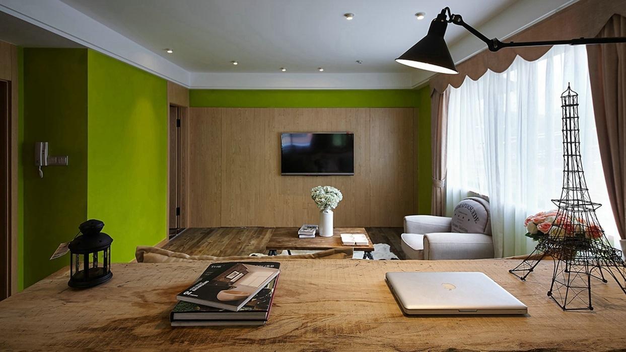 客厅电视背景墙设计图