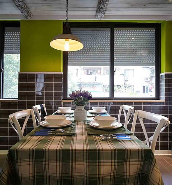 北欧风格餐厅灯饰/照明家装图