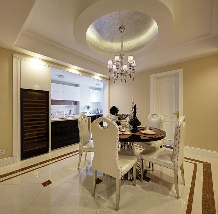 三居室餐厅灯饰/照明家装设计