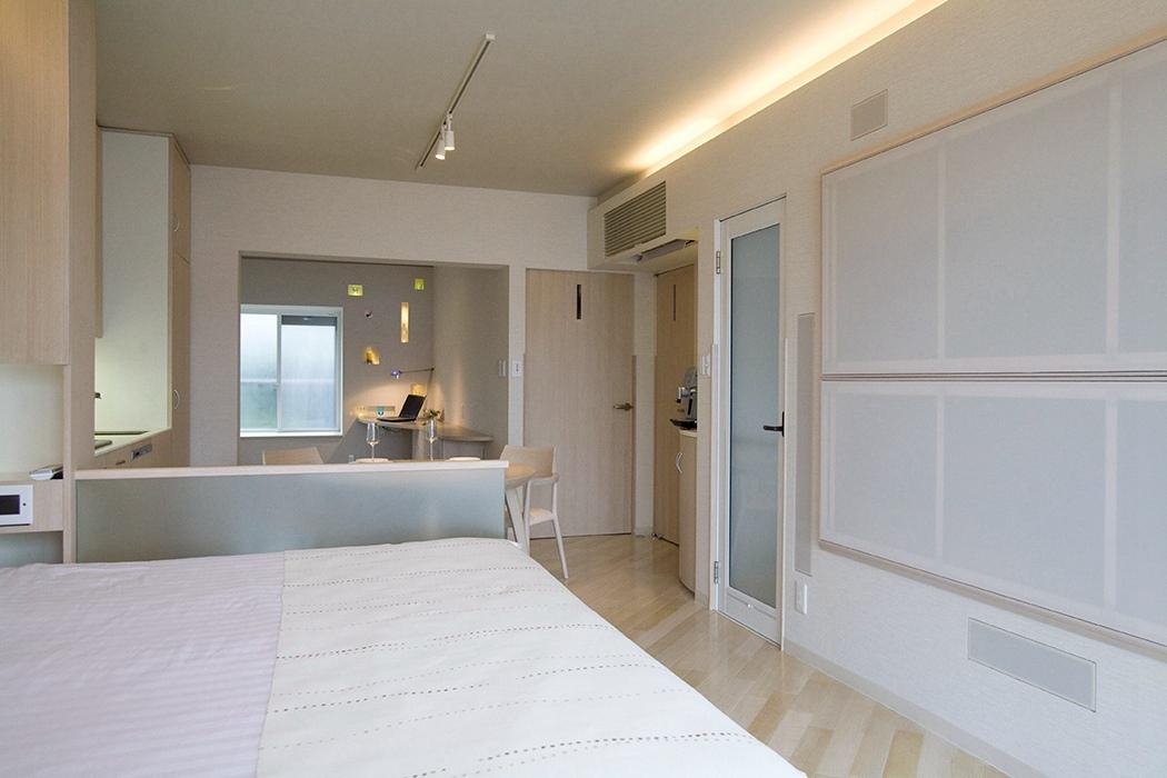 二居室卧室隔断样板间