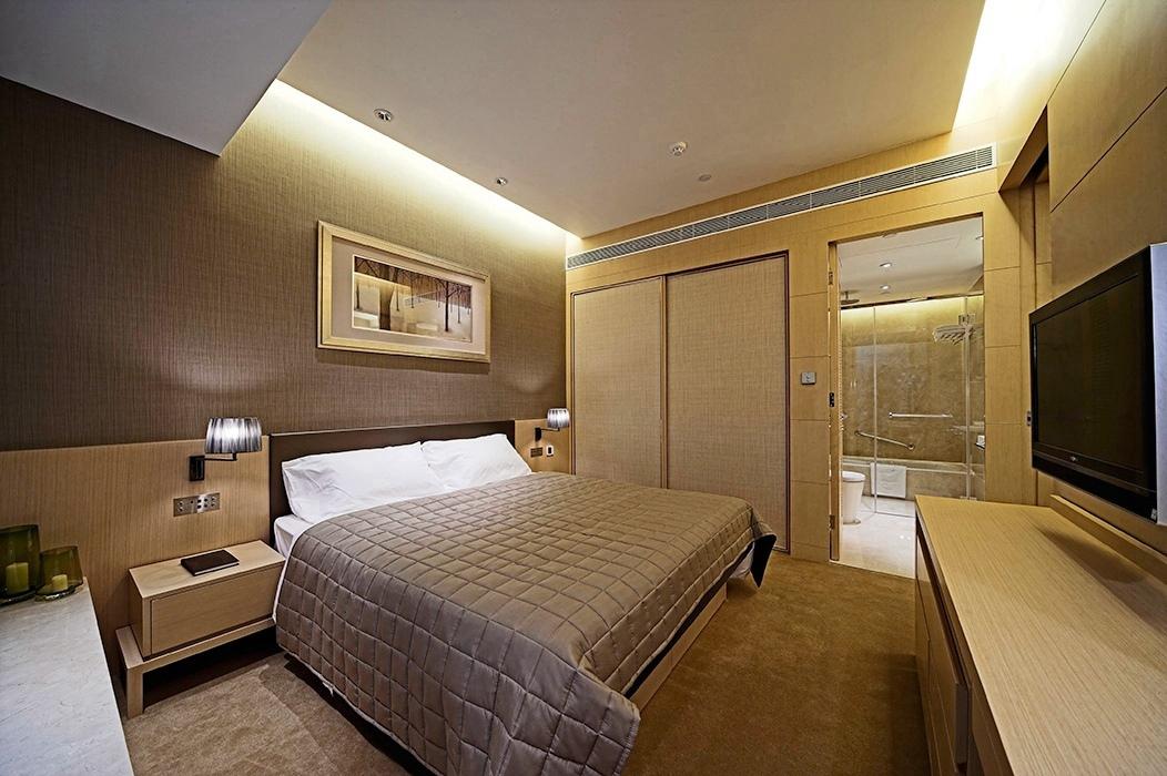 86平米卧室背景墙家装设计