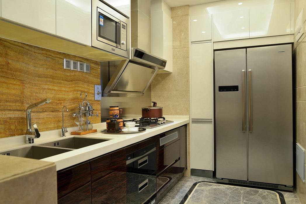 欧式风格厨房橱柜装修设计