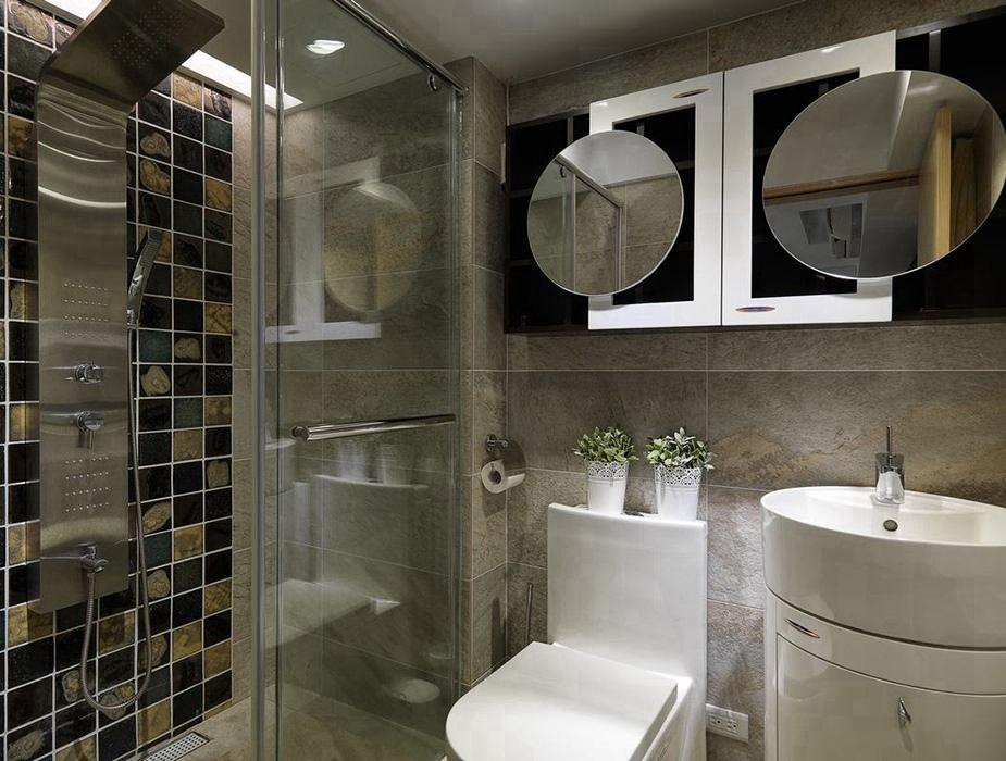 卫生间玻璃隔断设计图