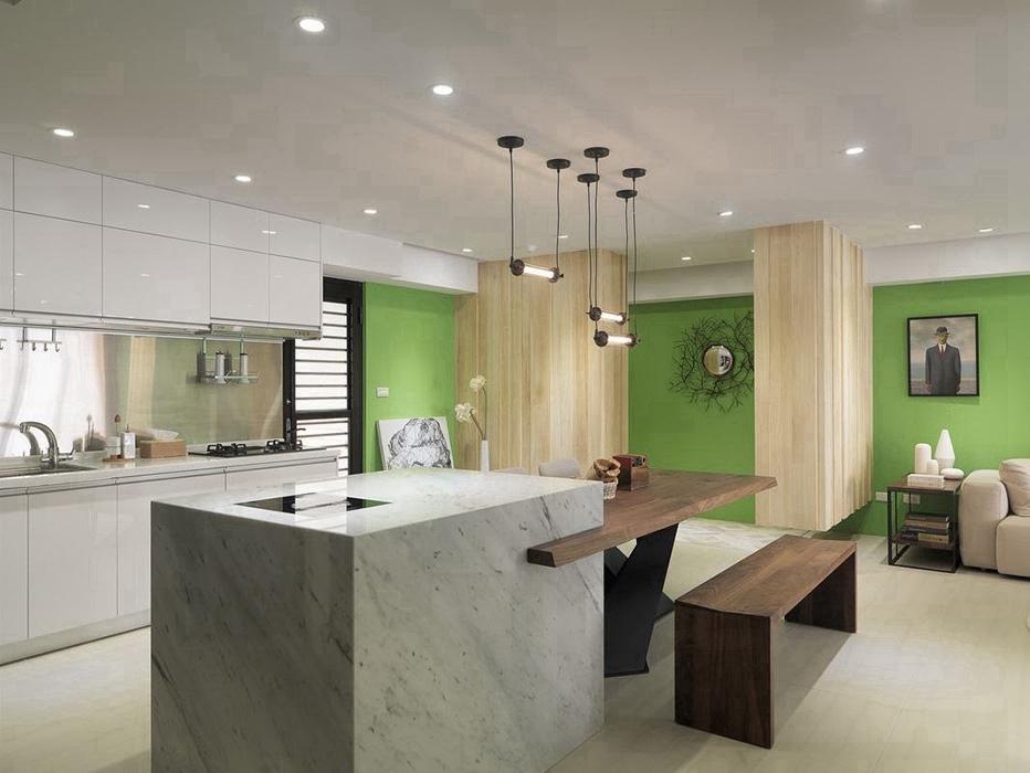 96平米厨房橱柜室内设计