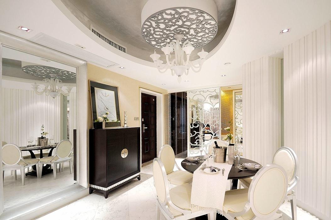 欧式风格餐厅灯饰/照明样板房