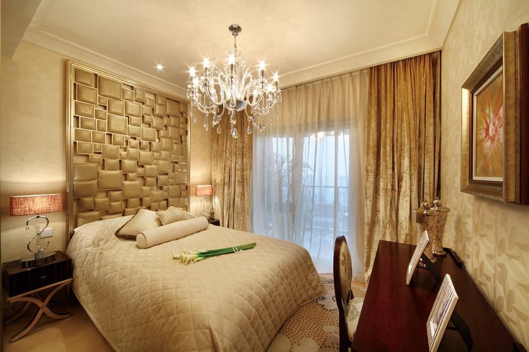 139平米卧室背景墙设计