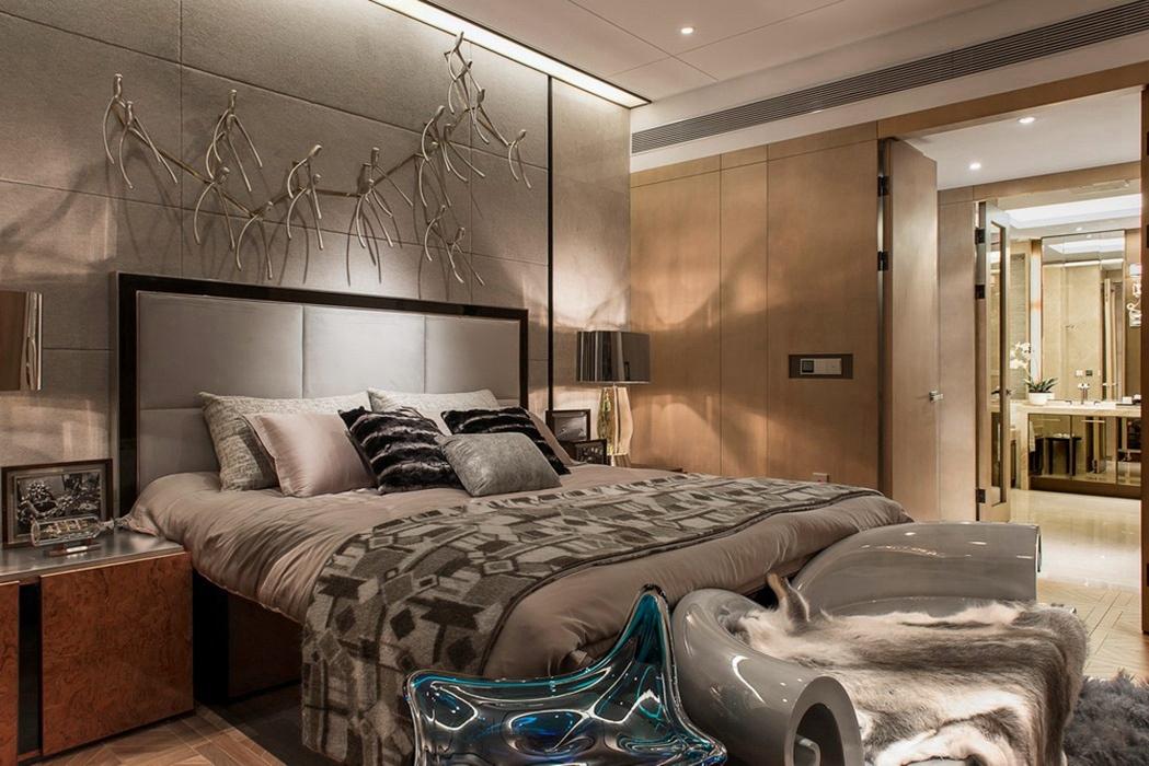 116平米卧室背景墙设计