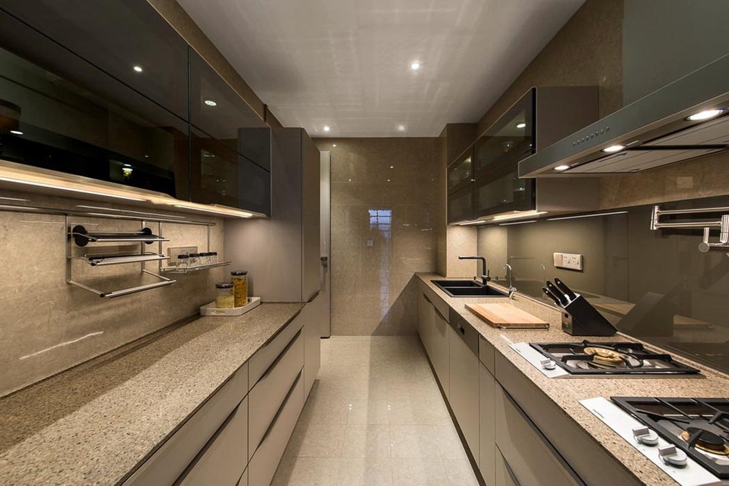 港台风格厨房橱柜效果图