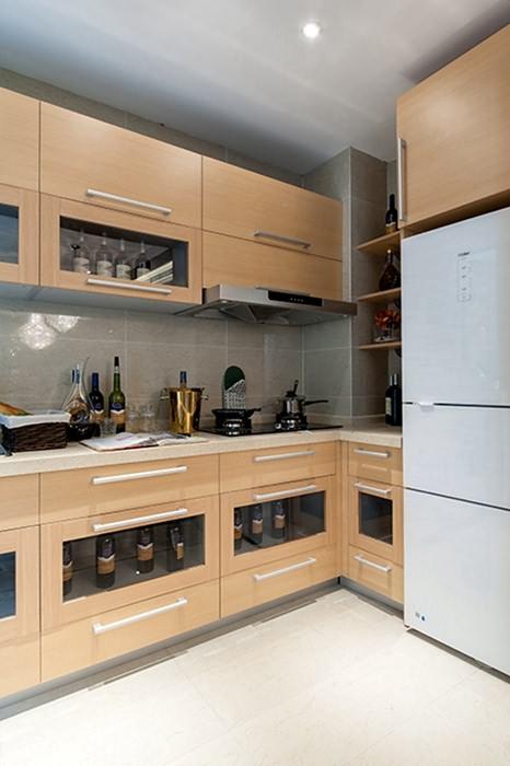 128平米厨房橱柜装饰样板间