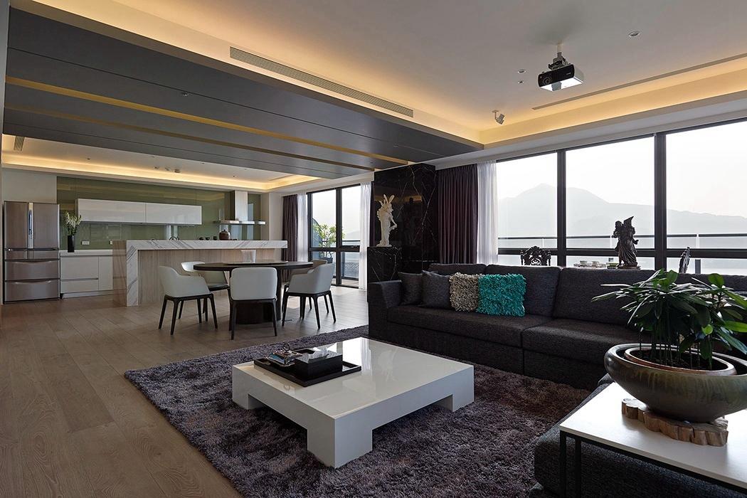 128平米客厅窗户家装效果图