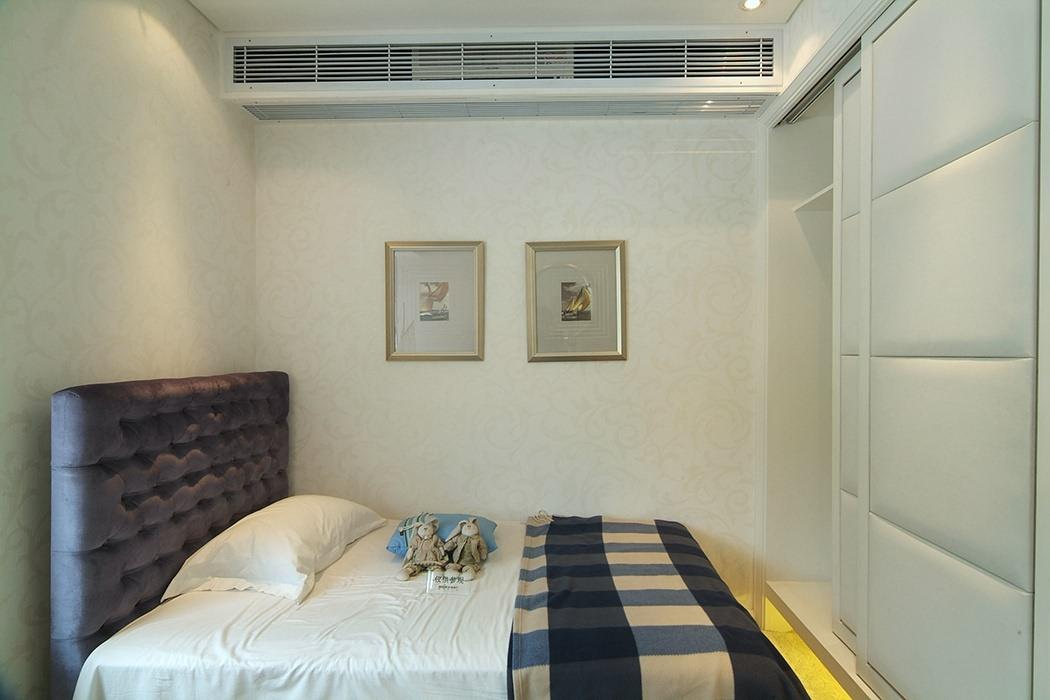 欧式风格卧室背景墙案例图