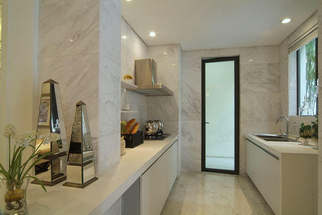 146平米厨房实景图