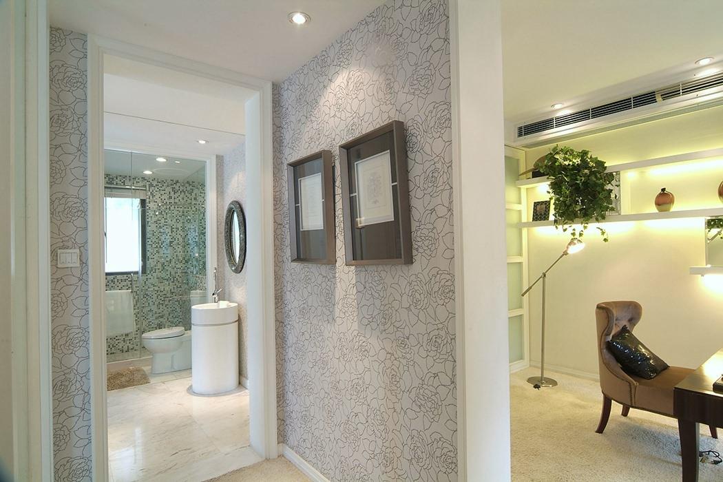 146平米卫生间背景墙家装图