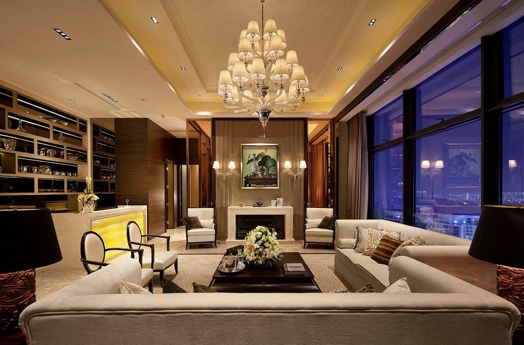 262平米客厅灯饰/照明设计图