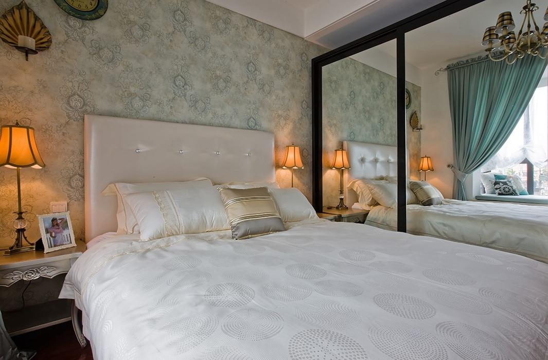 148平米卧室背景墙室内图片
