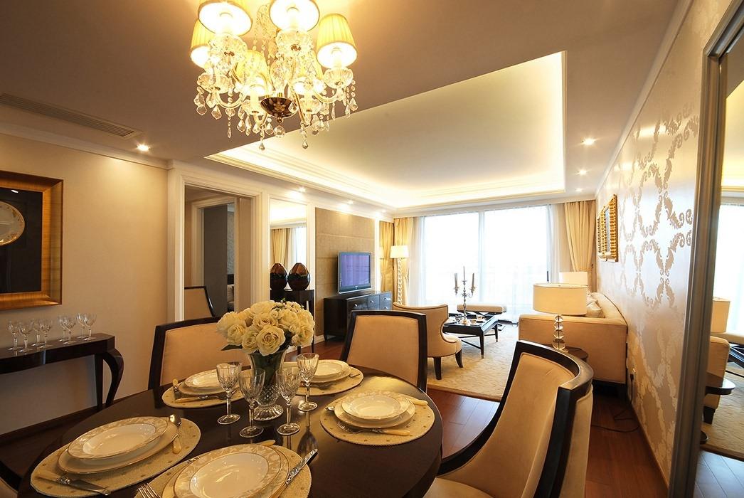四居室餐厅灯饰/照明家装图